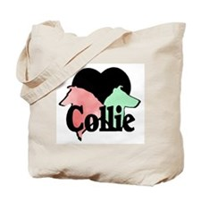 Rough and Smooth Collie Tote Bag