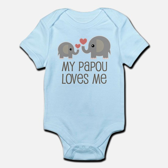 My Papou Loves Me Body Suit