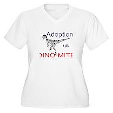 Adoption is Dino-mite! T-Shirt