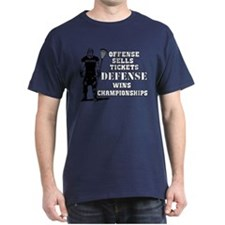 Lacrosse Defense Wins Champ 2 T-Shirt