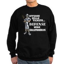 Lacrosse Defense Wins Champ 1 Sweatshirt