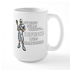 Lacrosse Defense Wins Champ 1 Mug