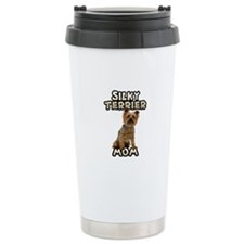 Silky Terrier Mom Stainless Steel Travel Mug