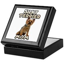 Silky Terrier Mom Keepsake Box