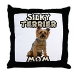 Silky Terrier Throw Pillow