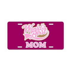 Worlds Best Mom License Plate Gift