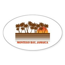 Montego Bay Jamaica Oval Decal