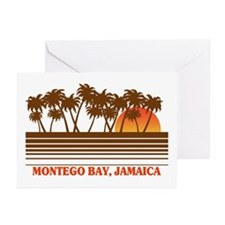 Montego Bay Jamaica Greeting Cards (Pk of 10)