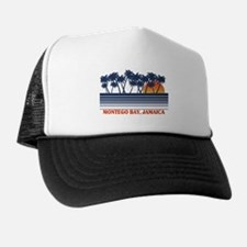 Montego Bay Jamaica Trucker Hat
