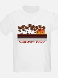 Montego Bay Jamaica Kids T-Shirt