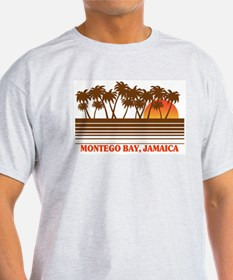 Montego Bay Jamaica Ash Grey T-Shirt