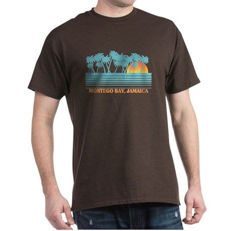 Montego Bay Jamaica Black T-Shirt