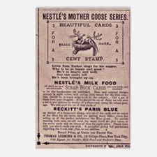 Nestle's Mother Goose Ad Postcards (Package of 8)