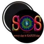 SOS Earth Day Magnet
