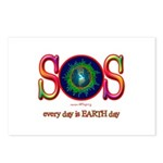 SOS Earth Day Postcards (Package of 8)