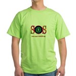 SOS Earth Day Green T-Shirt