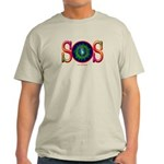 SOS Earth Day Ash Grey T-Shirt