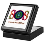 SOS Earth Day Keepsake Box