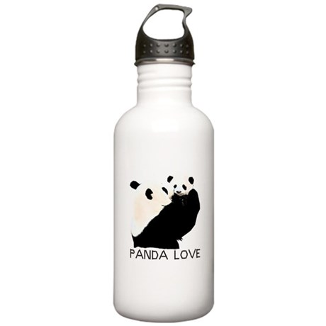 panda mom and cub Stainless Water Bottle 1.0L