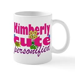 Cute Kimberly Mug