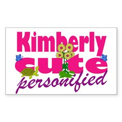 Cute Kimberly Decal