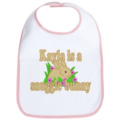 Kayla is a Snuggle Bunny Bib