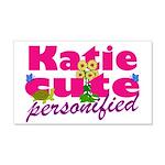Cute Katie 22x14 Wall Peel