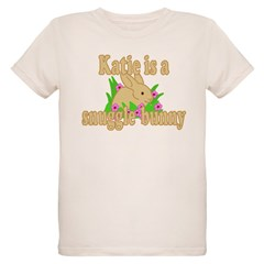 Katie is a Snuggle Bunny T-Shirt