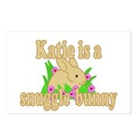 Katie is a Snuggle Bunny Postcards (Package of 8)