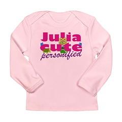 Cute Julia Long Sleeve Infant T-Shirt