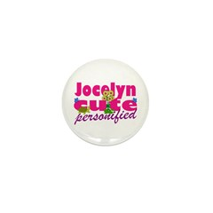 Cute Jocelyn Mini Button (10 pack)