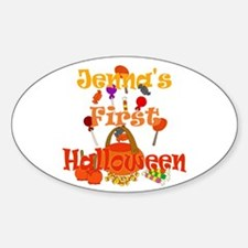 First Halloween Jenna Decal
