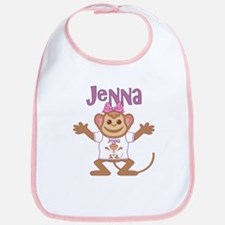 Little Monkey Jenna Bib