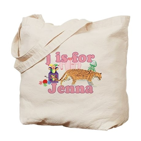 J is for Jenna Tote Bag