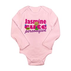 Cute Jasmine Long Sleeve Infant Bodysuit