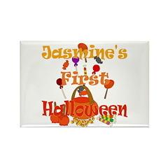 First Halloween Jasmine Rectangle Magnet