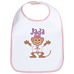 Little Monkey Jada Bib