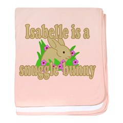 Isabelle is a Snuggle Bunny baby blanket