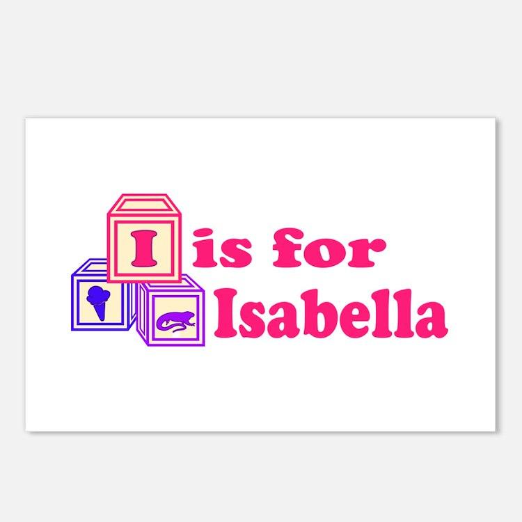 Baby Blocks Isabella Postcards (Package of 8)