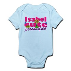 Cute Isabel Infant Bodysuit