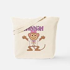 Little Monkey Hannah Tote Bag