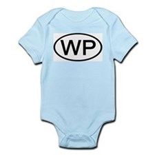 WP - Initial Oval Infant Creeper