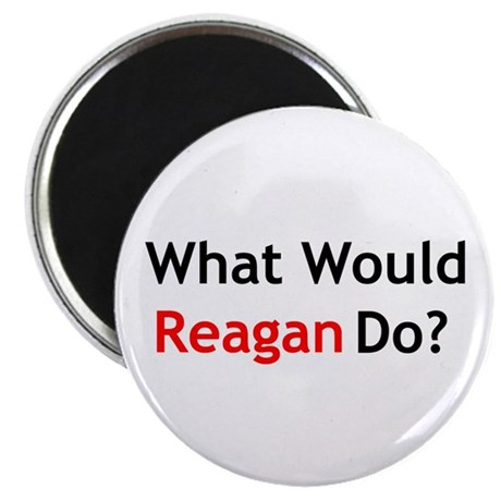 "What Would Reagan Do? 2.25"" Magnet (10 pack)"