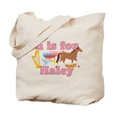 H is for Haley Tote Bag