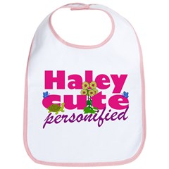 Cute Haley Bib