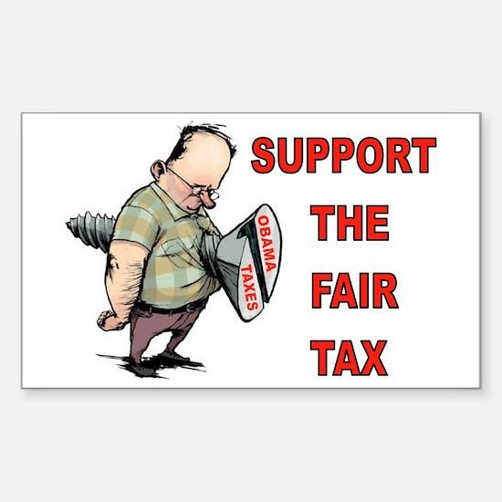 ELIMINATE IRS Sticker (Rectangle)