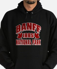 Banff Old Style Red Hoodie