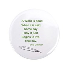 "Life of Words 3.5"" Button (100 pack)"
