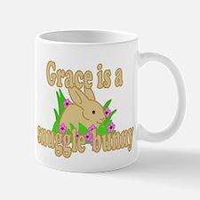 Grace is a Snuggle Bunny Mug