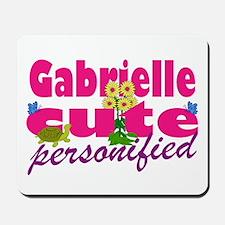 Cute Gabrielle Mousepad